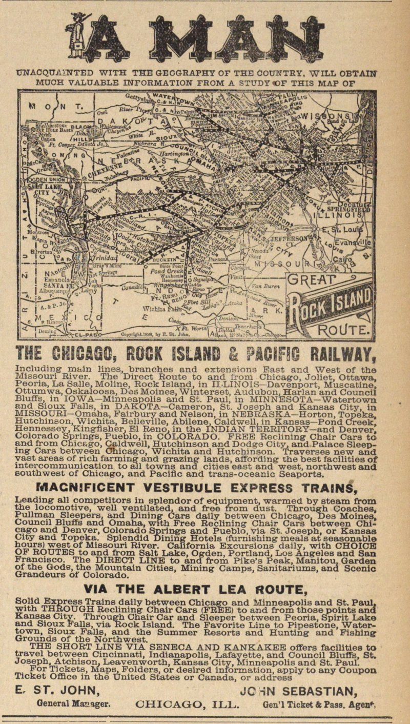 The Chicago Rock Island & Pacific Railway image