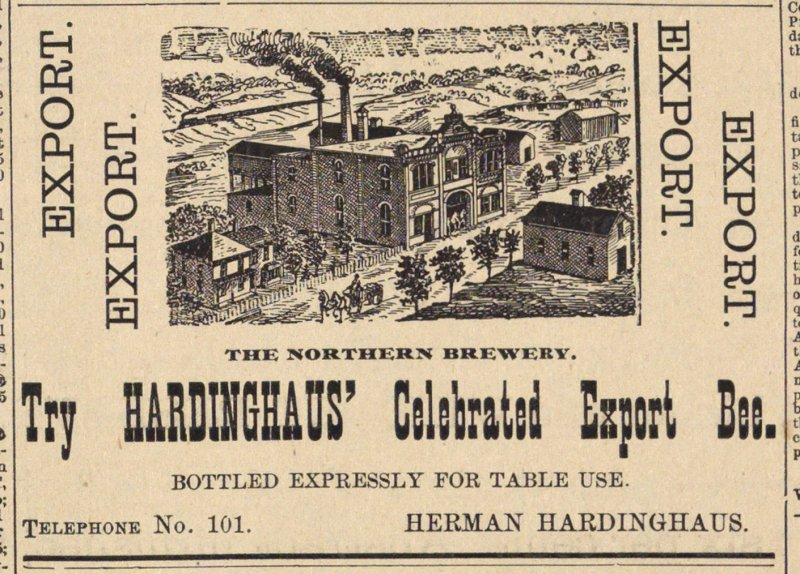 Try Hardinghaus' Celebrated Export Bee image