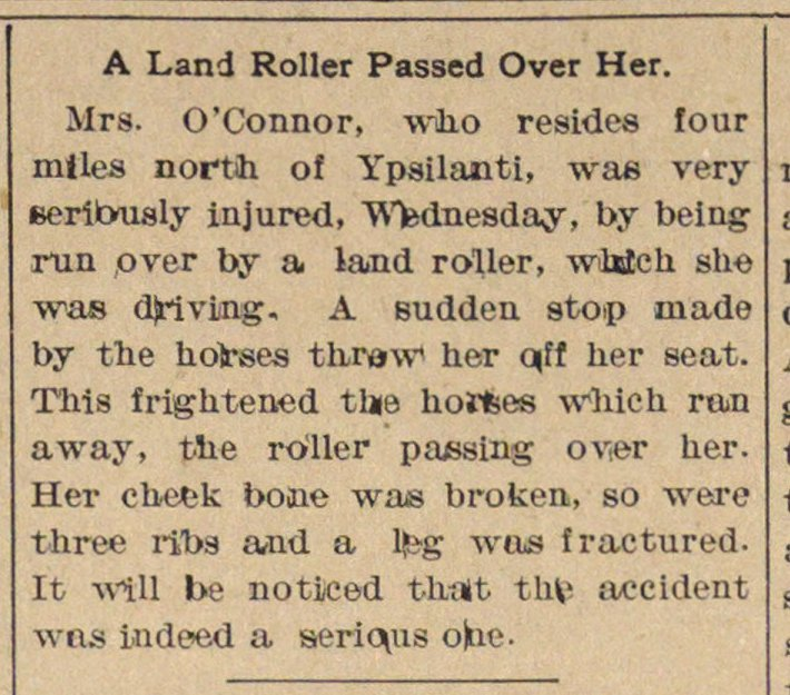 A Land Roller Passed Over Her image