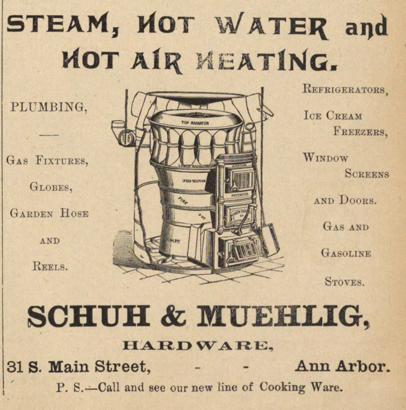 Steam, Hot Water And Hot Air Heating image