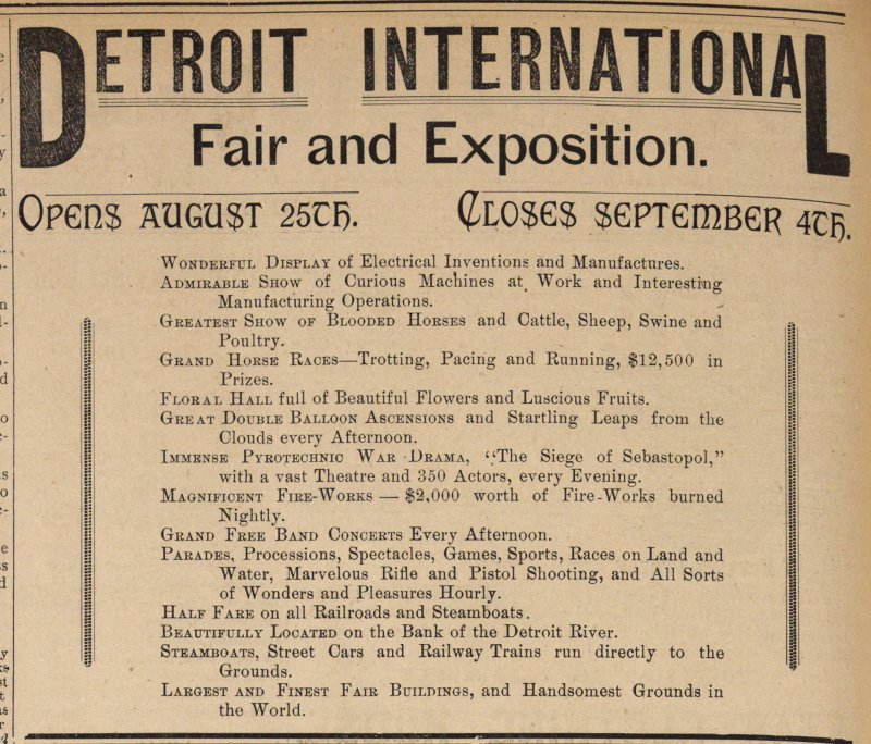 Fair And Exposition image