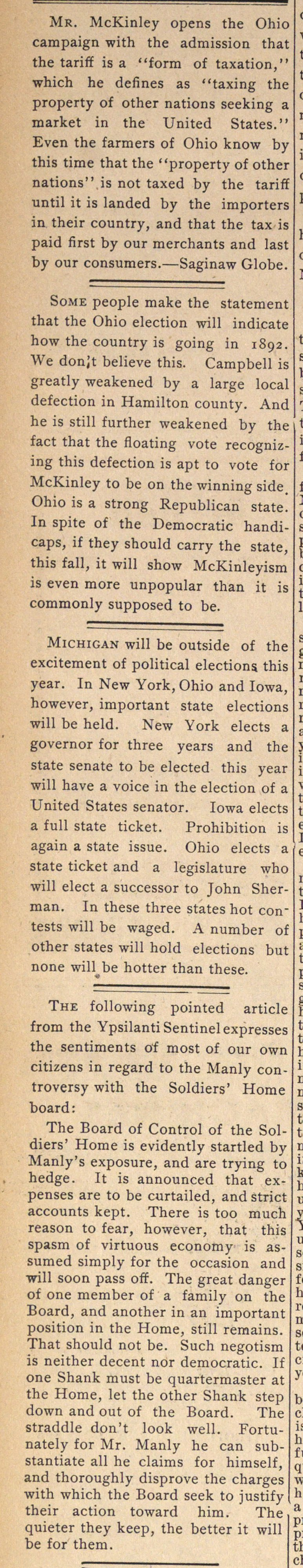 Mr. McKinley opens the Ohio campaign wit... image