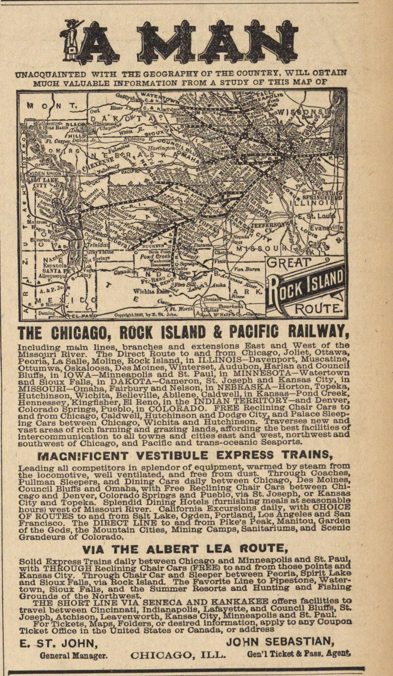 The Chicago. Rock Island & Pacific Railway image