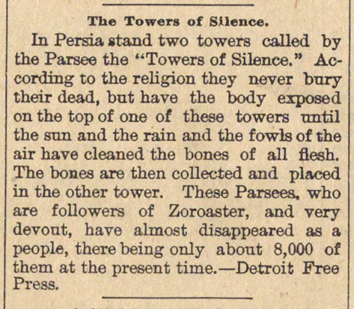 The Towers Of Silence image