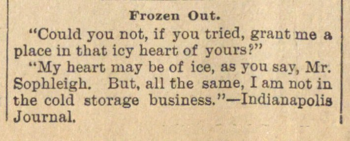 Frozen Out image