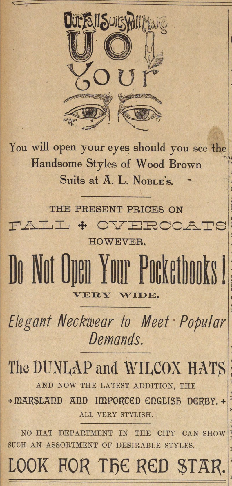 Do Not Open Your Pocketbooks! image