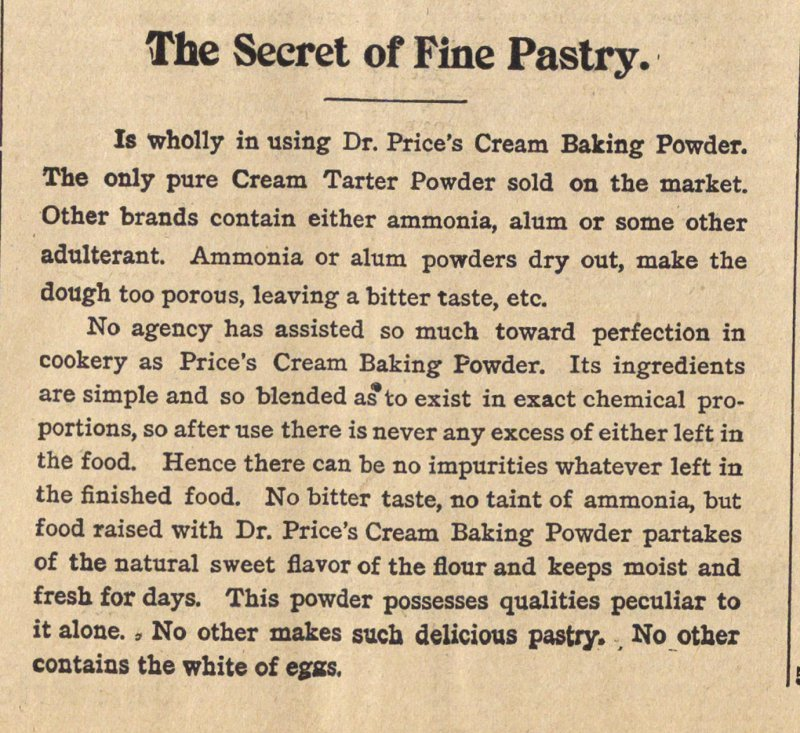 The Secret Of Fine Pastry image