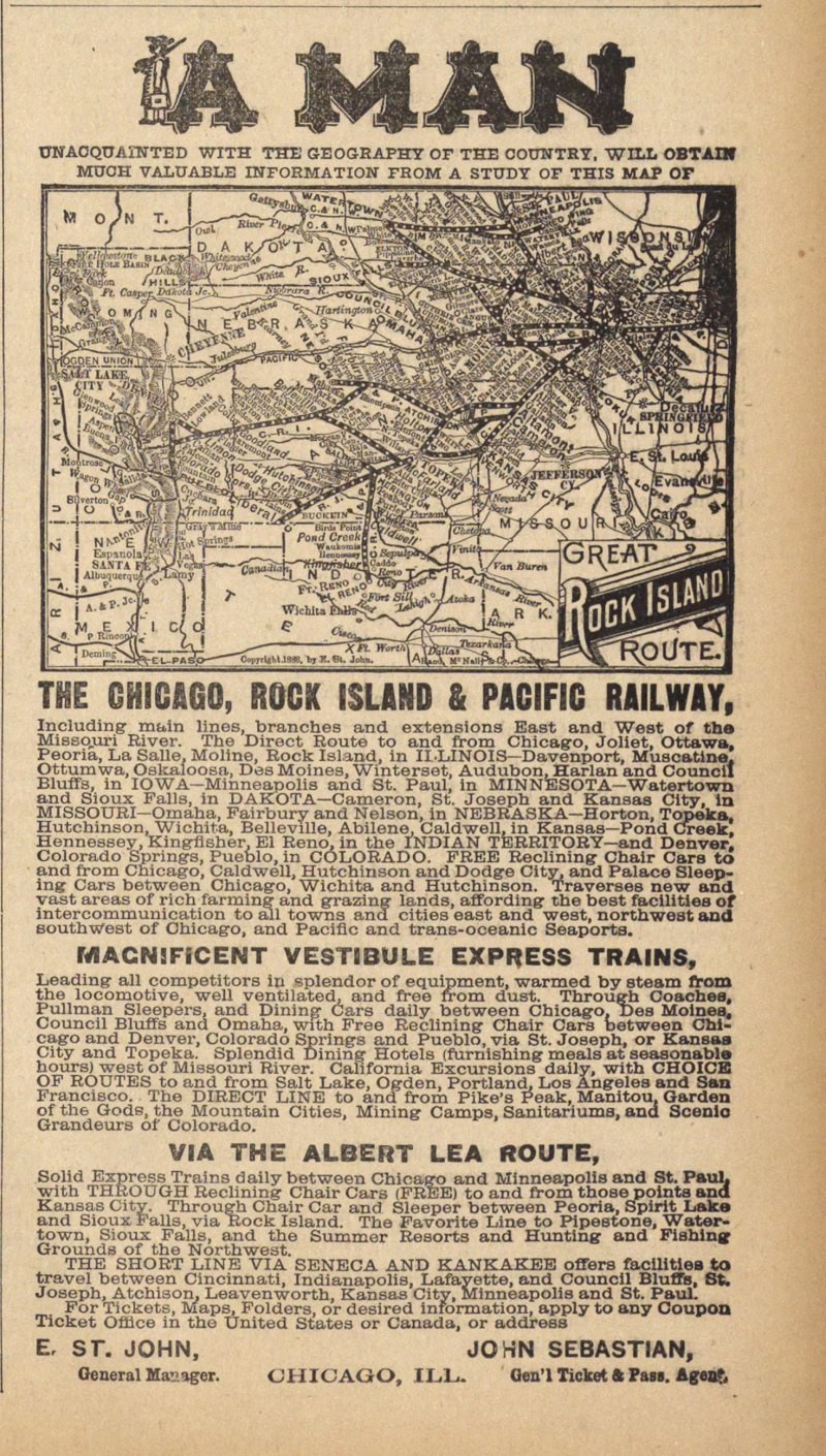 The Chicago, Rock Island & Pacific Railway image