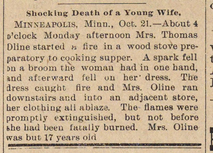 Shocking Death Of A Young Wife image