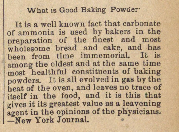 What Is Good Baking Powder image
