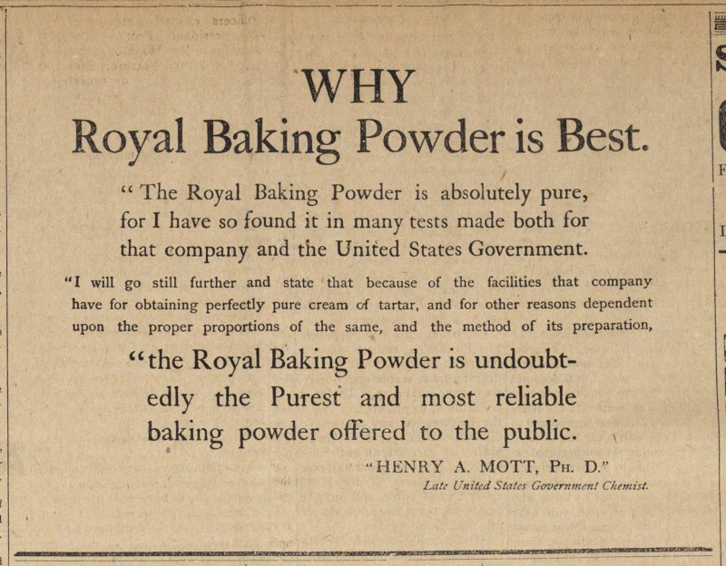 Why Royal Baking Powder Is Best image