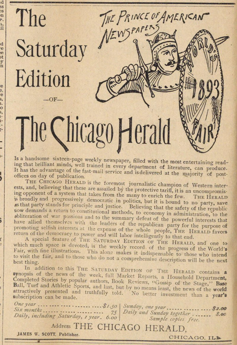 The Chicago Herald image
