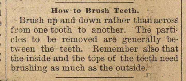 How To Brush Teeth image