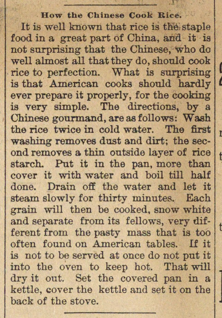 How The Chinese Cook Rice image