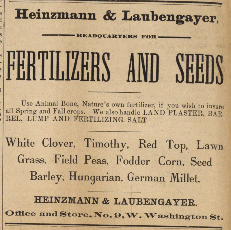 Fertilizers And Seeds image
