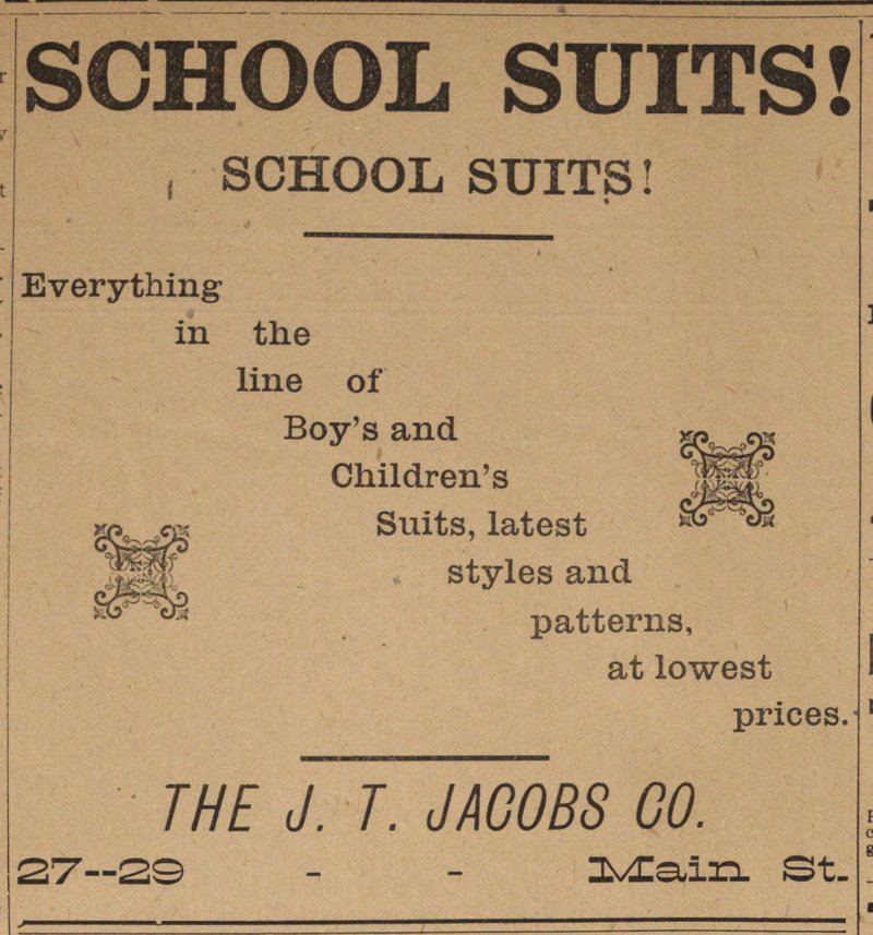 School Suits! image