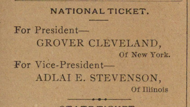 National Ticket image