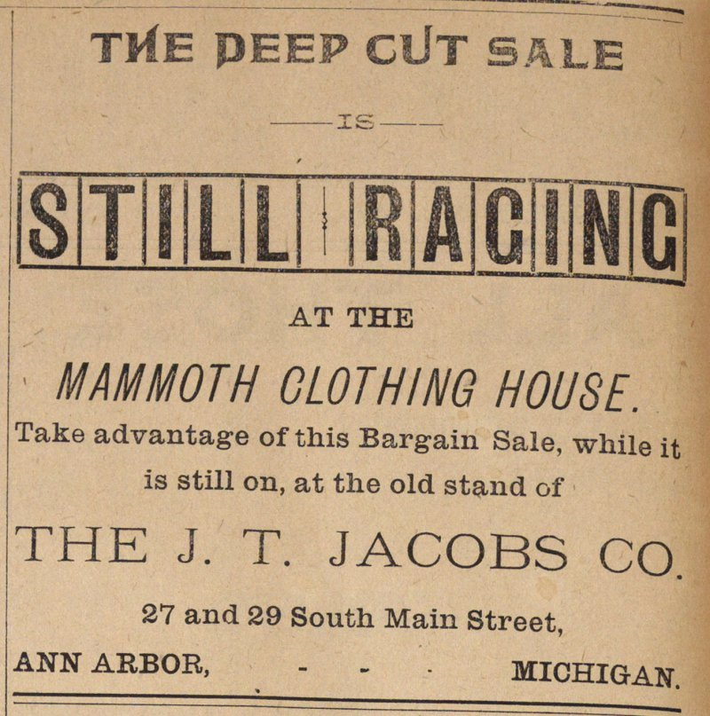 The Deep Cut Sale image