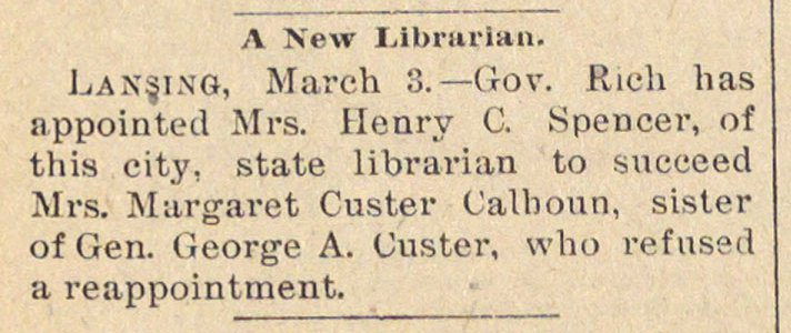 A New Librarian image