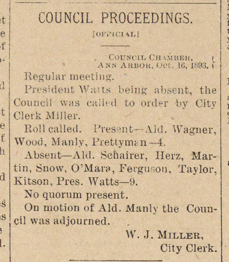Council Proceedings image