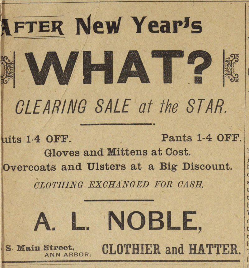 Clearing Sale At The Star image