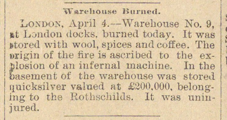 Warehouse Burned image