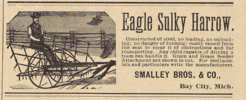 Eagle Sulky Harrow image