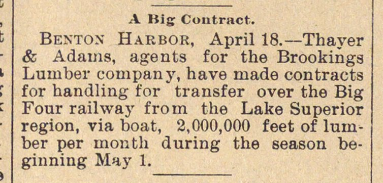 A Big Contract image