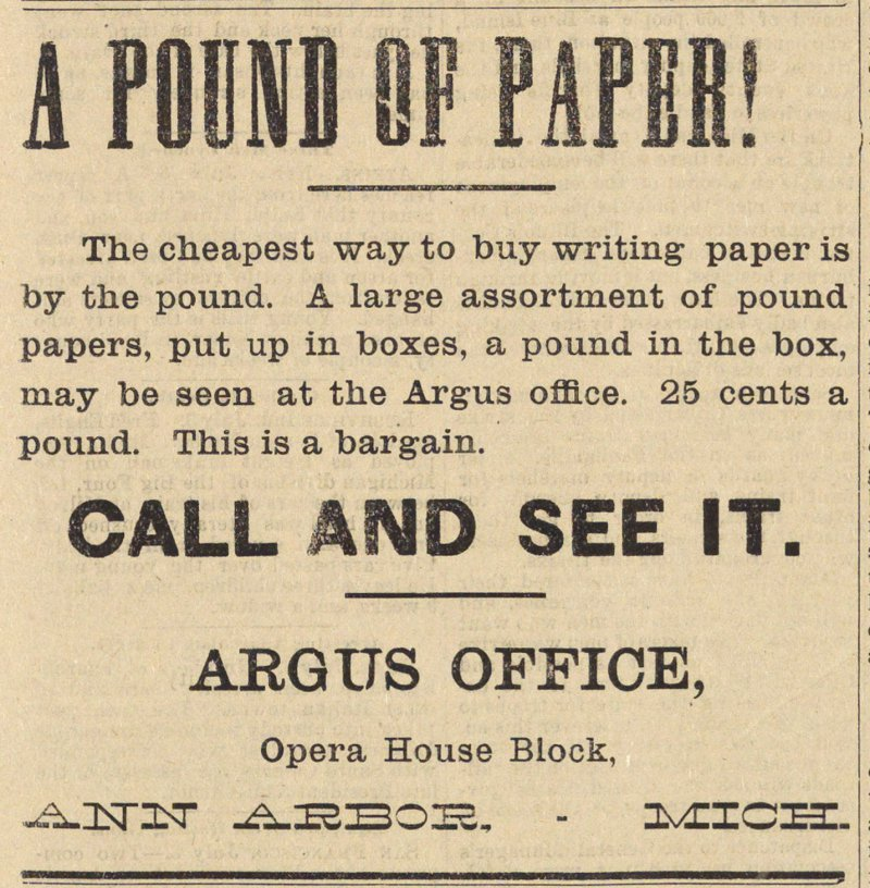 A Pound Of Paper! image