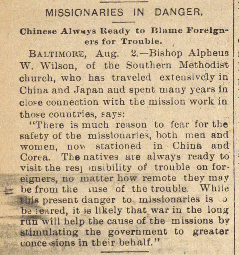 Missionaries In Danger image