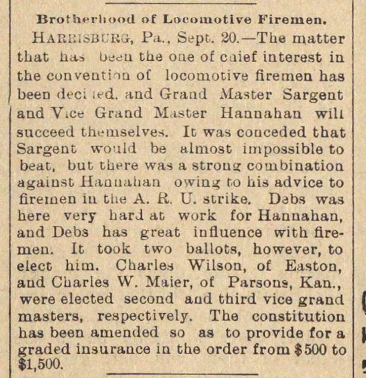 Brotherhood Of Locomotive Firemen image