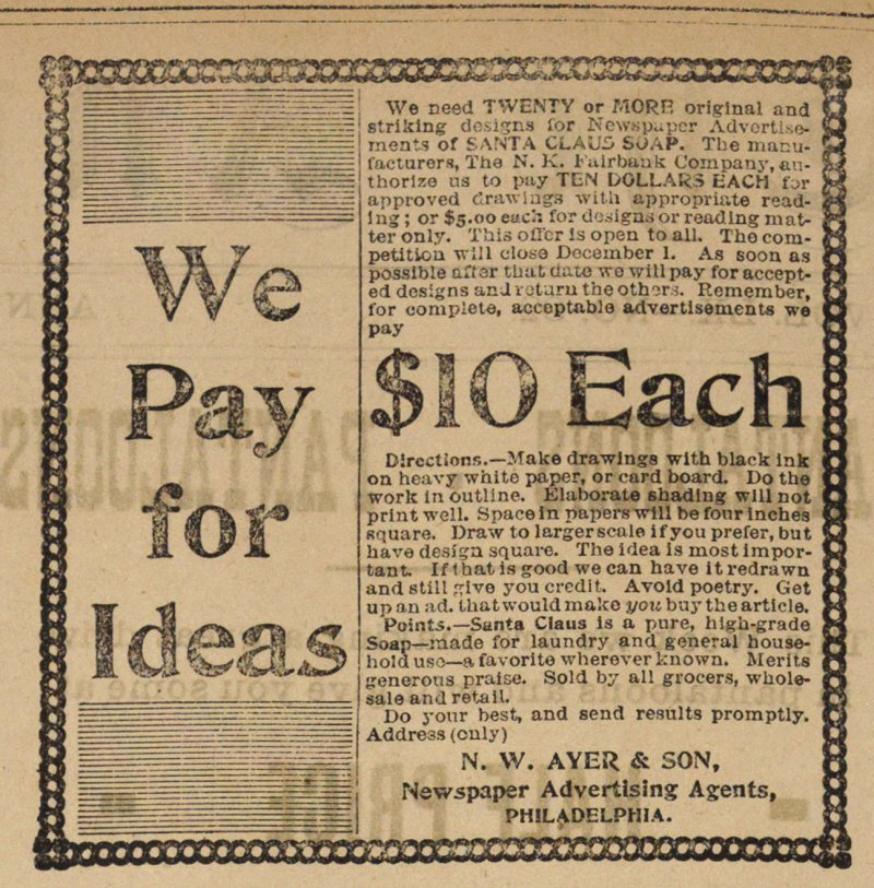 We Pay For Ideas image
