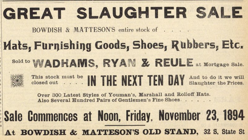 Great Slaughter Sale image