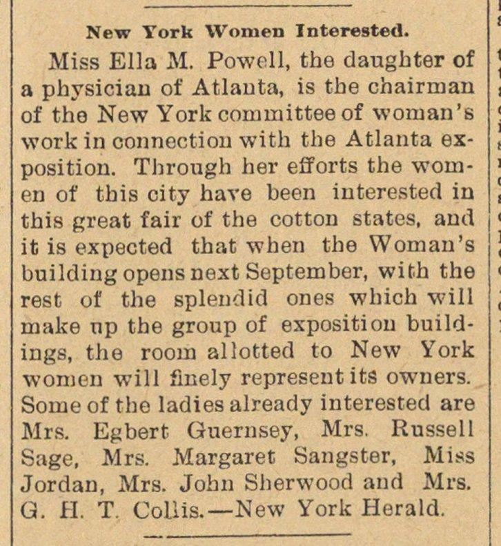 New York Women Interested image