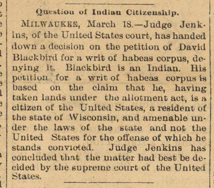 Question Of Indian Citizenship image