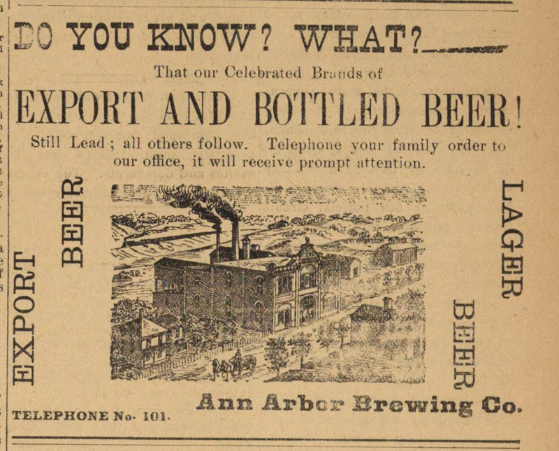 Export And Bottled Beer! image