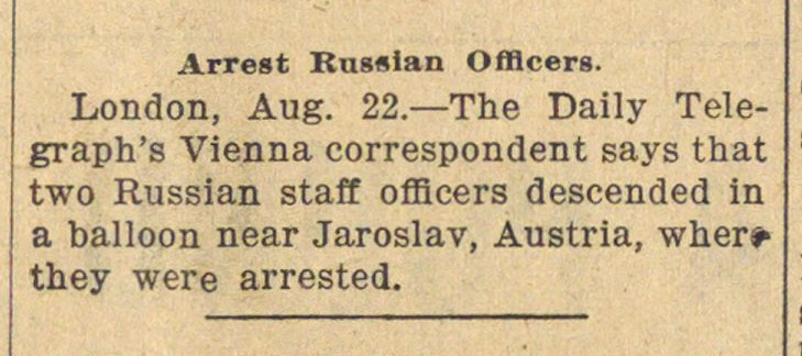Arrest Russian Officers. image