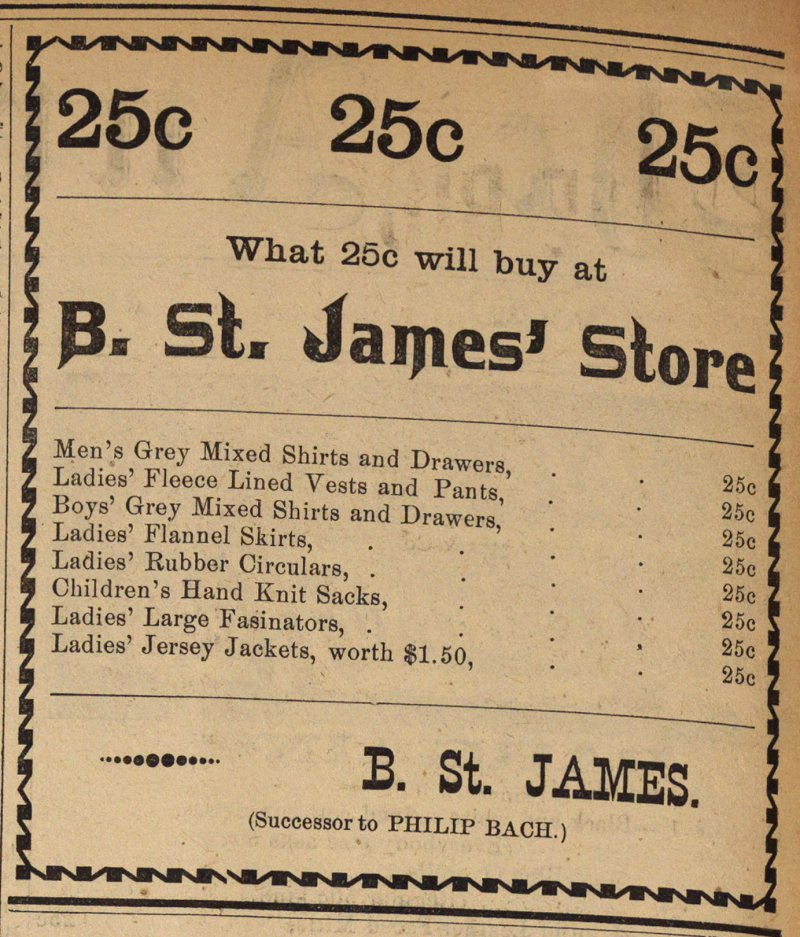 B. St. James' Store image