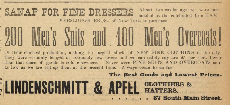200 Men's Suits And 100 Men's Overcoats! image