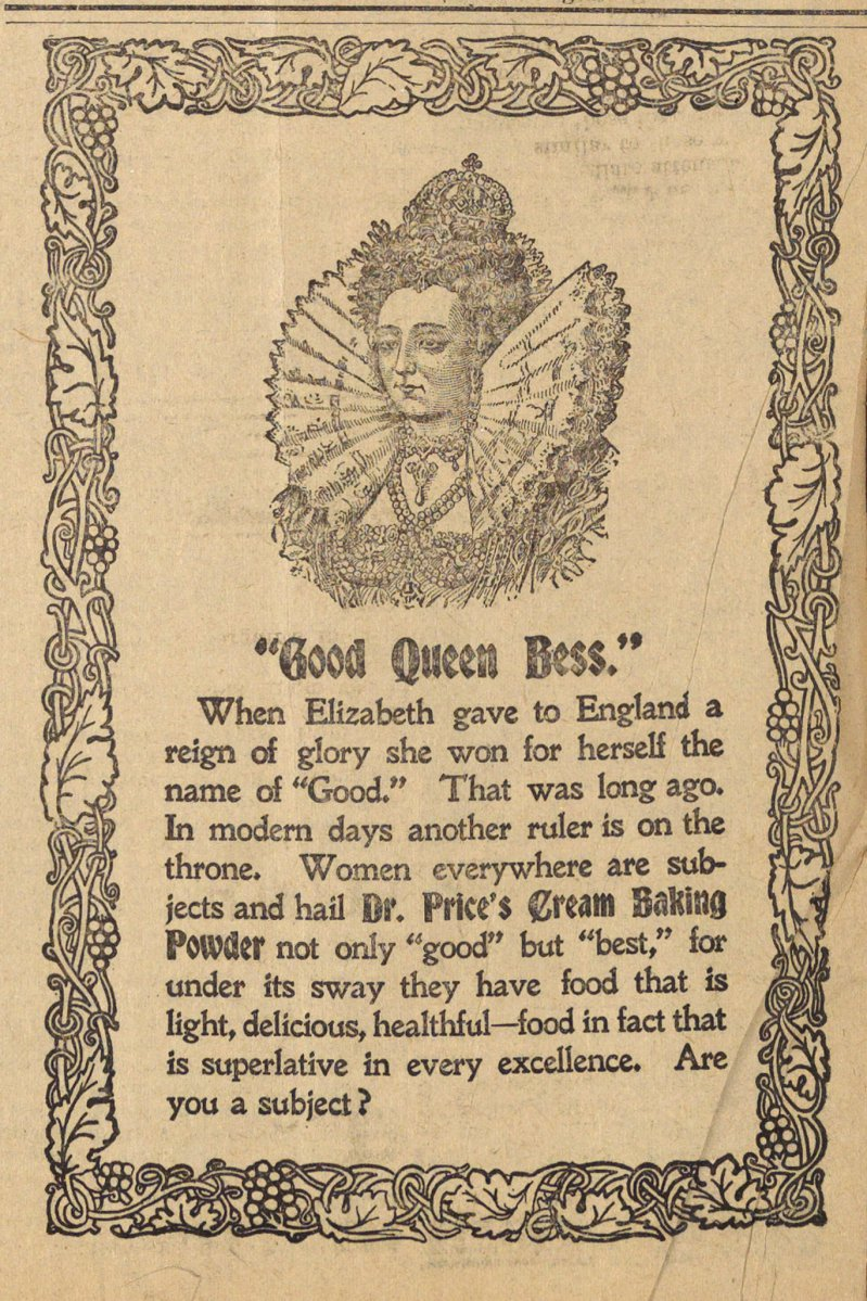 """good Queen Bess."" image"