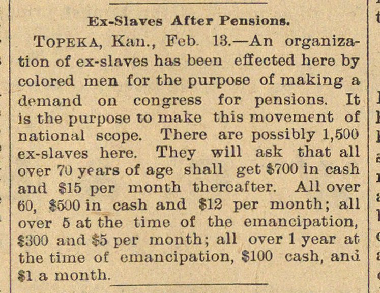 Ex-slaves After Pensions image