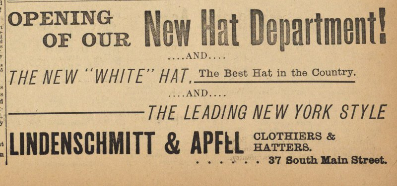 New Hat Department! image