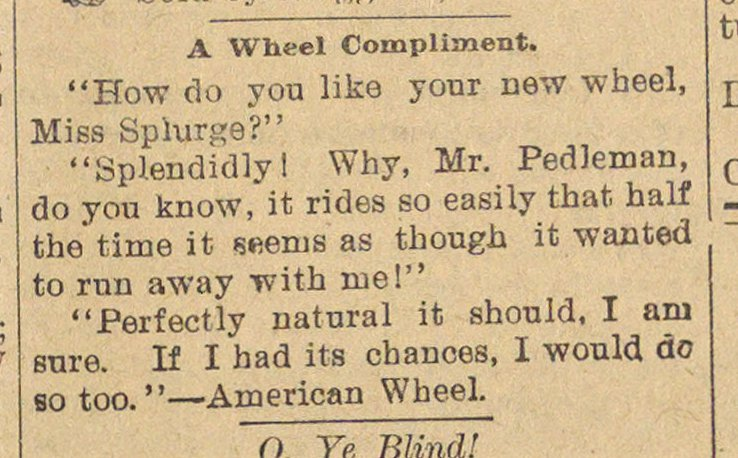 A Wheel Compliment image