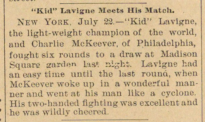 """kid"" Lavigne Meets His Match image"
