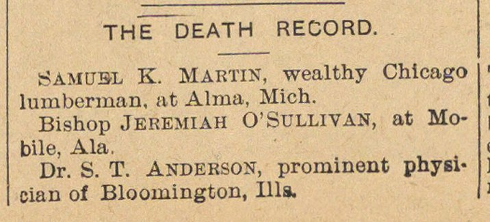 The Death Record image