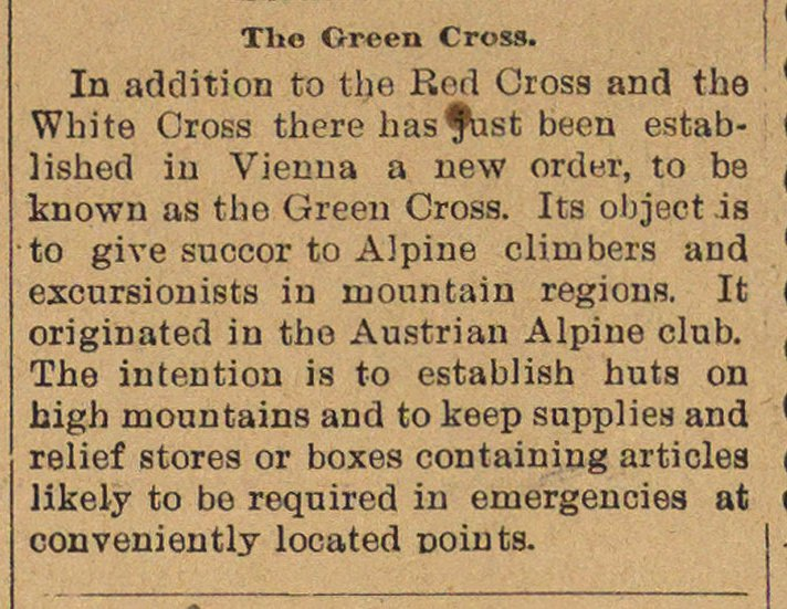 The Green Cross image