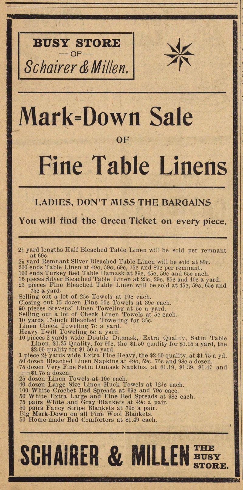 Fine Table Linens image