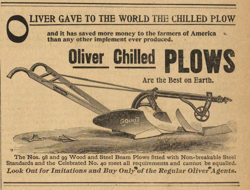 Oliver Chilled Plows image