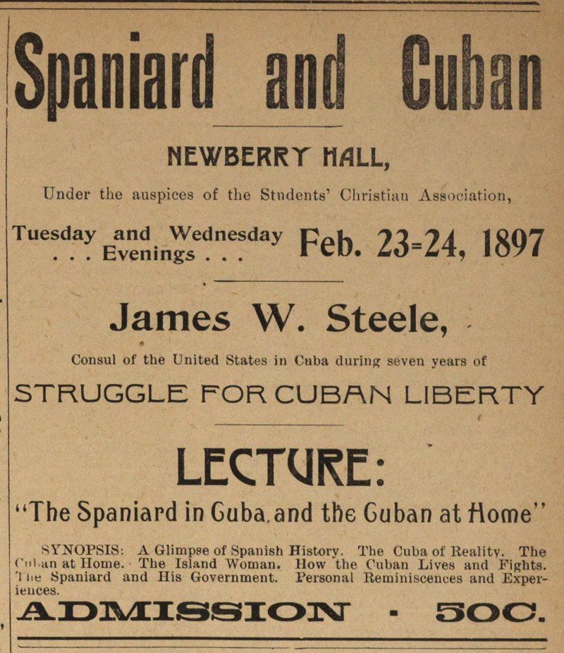 Spaniard And Cuban image