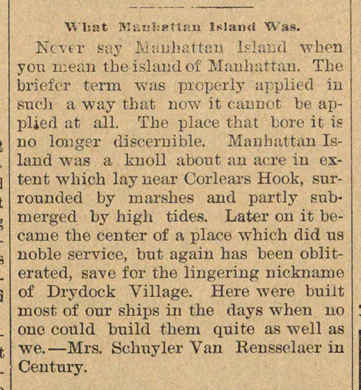 What Manhattan Inland Was image